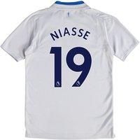 Everton Away Shirt 2017/18 - Junior with Niasse 19 printing