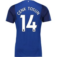 Everton Home Shirt 2017/18 - Junior with Cenk Tosun 14 printing