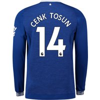 Everton Home Shirt 2018-19 - Long Sleeve with Cenk Tosun 14 printing