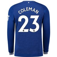 Everton Home Shirt 2018-19 - Long Sleeve with Coleman 23 printing