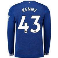 Everton Home Shirt 2018-19 - Long Sleeve with Kenny 43 printing