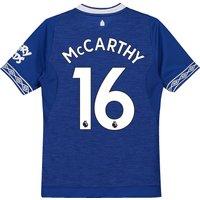Everton Home Shirt 2018-19 - Kids with McCarthy 16 printing