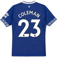 Everton Home Shirt 2018-19 - Kids with Coleman 23 printing