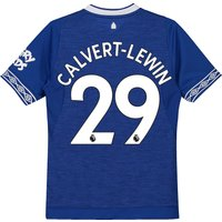 Everton Home Shirt 2018-19 - Kids with Calvert-Lewin 29 printing