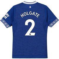 Everton Home Shirt 2018-19 - Kids with Holgate 2 printing