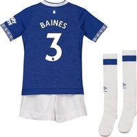 Everton Home Infant Kit 2018-19 with Baines 3 printing