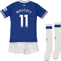 Everton Home Infant Kit 2018-19 with Walcott 11 printing