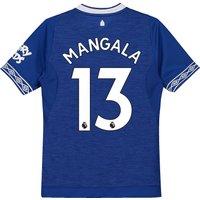 Everton Home Shirt 2018-19 - Kids with Mangala 13 printing