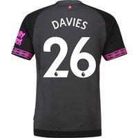 Everton Away Shirt 2018-19 with Davies 26 printing