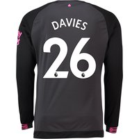 Everton Away Shirt 2018-19 - Long Sleeve with Davies 26 printing