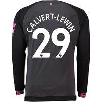 Everton Away Shirt 2018-19 - Long Sleeve with Calvert-Lewin 29 printing