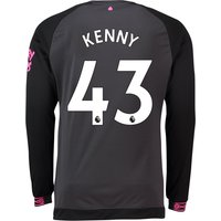 Everton Away Shirt 2018-19 - Long Sleeve with Kenny 43 printing