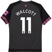 Everton Away Shirt 2018-19 - Kids with Walcott 11 printing