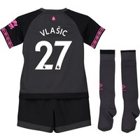 Everton Away Baby Kit 2018-19 with Vlašic 27 printing