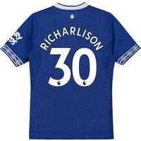 Everton Home Shirt 2018-19 - Kids with Richarlison 30 printing