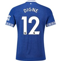 Everton Home Shirt 2018-19 with Digne 12 printing