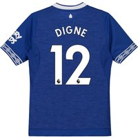 Everton Home Shirt 2018-19 - Kids with Digne 12 printing