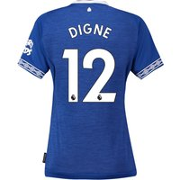 Everton Home Shirt 2018-19 - Womens with Digne 12 printing