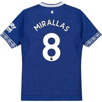 Everton Home Shirt 2018-19 - Kids with Mirallas 8 printing