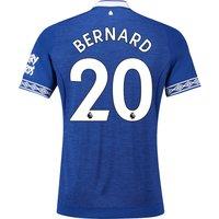 Everton Home Shirt 2018-19 with Bernard 20 printing