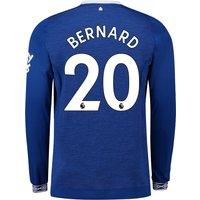 Everton Home Shirt 2018-19 - Long Sleeve with Bernard 20 printing