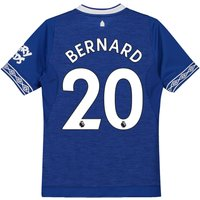 Everton Home Shirt 2018-19 - Kids with Bernard 20 printing