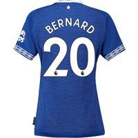 Everton Home Shirt 2018-19 - Womens with Bernard 20 printing