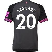 Everton Away Shirt 2018-19 with Bernard 20 printing