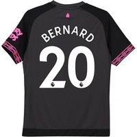 Everton Away Shirt 2018-19 - Kids with Bernard 20 printing