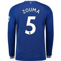 Everton Home Shirt 2018-19 - Long Sleeve with Zouma 5 printing