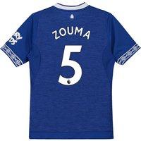 Everton Home Shirt 2018-19 - Kids with Zouma 5 printing