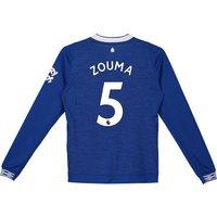 Everton Home Shirt 2018-19 - Kids - Long Sleeve with Zouma 5 printing