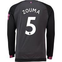 Everton Away Shirt 2018-19 - Long Sleeve with Zouma 5 printing