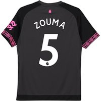 Everton Away Shirt 2018-19 - Kids with Zouma 5 printing