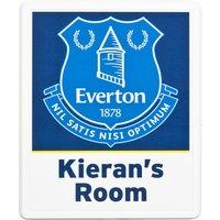 Everton Personalised Door Plaques