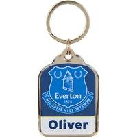 Everton Personalised Keyrings