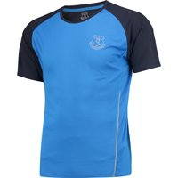 Everton Sport Poly T-Shirt - Royal/Reflective