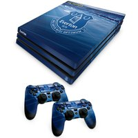 'Everton Ps4 Pro Controller And Console Skin Set