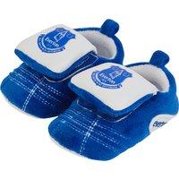 Everton Velcro Boot Slipper - Baby