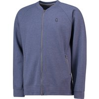 Everton Terrace Baseball Collar Jacket - Denim Marl - Mens