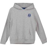 Everton Core Crest Hoodie - Grey Marl - Kids