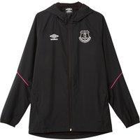 Everton Training Shower Jacket - Black - Kids