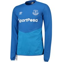 Everton Training Drill Top - Royal Blue