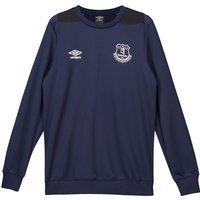 Everton Training Sweatshirt - Dark Blue - Kids
