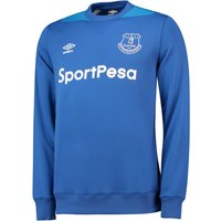 Everton Training Sweatshirt - Royal Blue