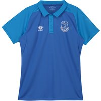 Everton Training Polo - Royal Blue - Kids