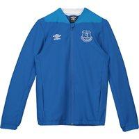 Everton Training Woven Jacket - Royal Blue - Kids