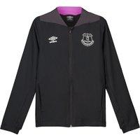 Everton Training Woven Jacket - Black - Kids