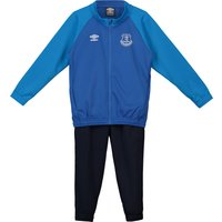 Everton Training Knitted Tracksuit - Royal Blue - Kids