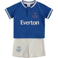 Everton Kit Short & Tee Set - Royal/White - Baby